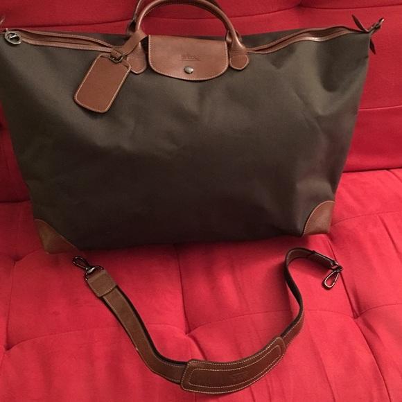 14b1e4848720 Longchamp Handbags - Longchamp Boxford Weekender Travel Bag XL